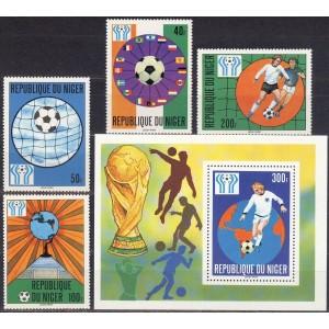 Niger - jalgpalli MM, Argentiina 1978, (I) **