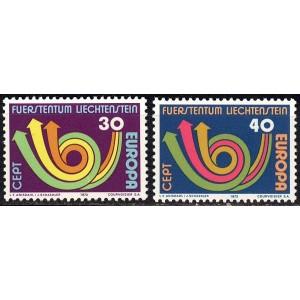 Liechtenstein - Europa 1973, **