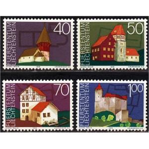 Liechtenstein - ehitised 1975, **