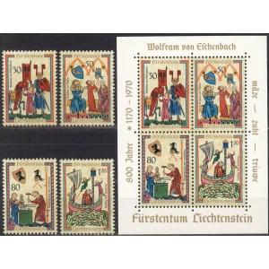 Liechtenstein - vanad käsitöömeistrid 1970, **