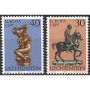 Liechtenstein - Europa, skulptuurid 1974, **