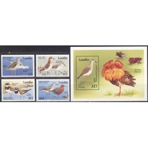 Lesotho - linnud 1989, **