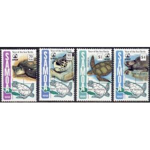 Samoa - kahepaiksed: kilpkonnad 1995, **