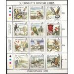 Guernsey - linnud, jõulud 1990, **