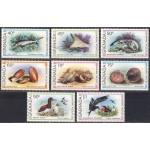 Grenada - kalad, merekarbid, linnud 1979, **