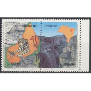 Brasiilia - loomad ja lind 1992, **