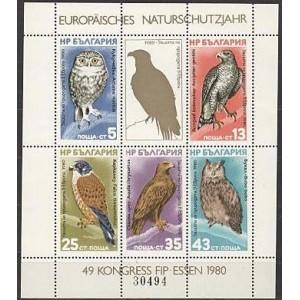 Bulgaaria - linnud 1980, poogen **