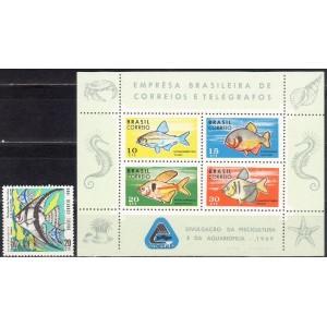 Brasiilia - kalad 1969, **