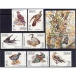 Madagaskar - linnud 1991, **