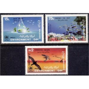 Maldives - kalad ja linnud 1988, **