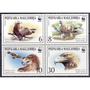 Makedoonia - linnud WWF 2001, **