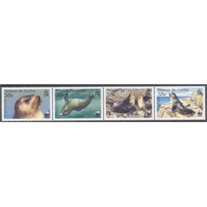 Tristan da Cunha - loomad WWF 2004, **