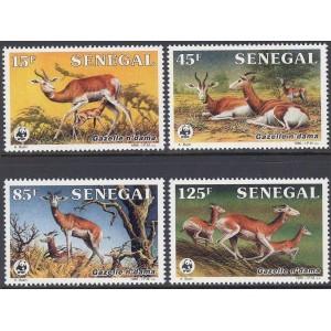 Senegal - loomad WWF 1986, **