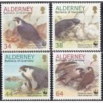 Alderney - linnud WWF 2000, **
