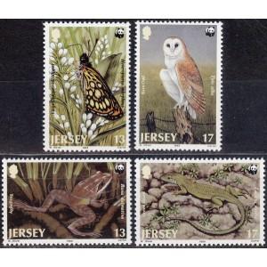 Jersey - fauna WWF 1989, **