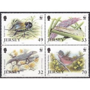 Jersey - fauna WWF 2004, **