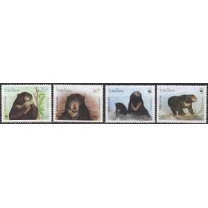 Laos - loomad, karud WWF 1994, **