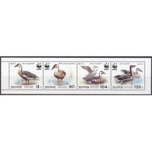 Põhja-Korea - linnud WWF 2004, **
