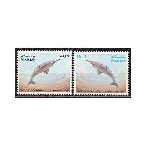 Pakistan - imetajad (delfiinid), MNH