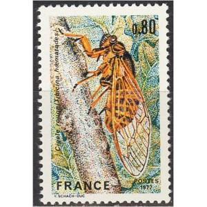 Prantsusmaa - putukas 1977, **