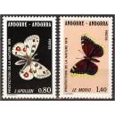 Andorra (pr.) - liblikad 1976, **