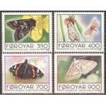 Fääri saared - liblikad 1993, **