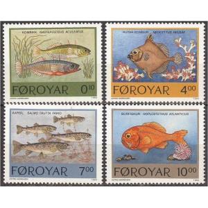 Fääri saared - kalad 1994, **