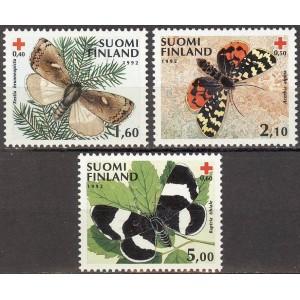 Soome - liblikad 1992, **