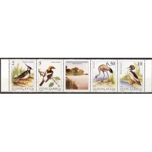 Jugoslaavia - linnud 1991, **