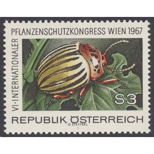 Austria - mardikas 1967, **