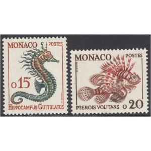 Monako - kalad 1960, **