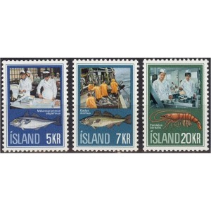 Island - kalad ja kalandus 1971, **