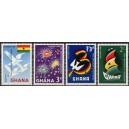 Ghana - 3 aastat iseseisvust 1960, **