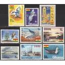 Ghana - mais, linnud, kala, maastik 1967, **