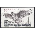 Rootsi - linnud, öökull 1989, **