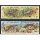 Pitcairn Islands - sisalikud 1993, **
