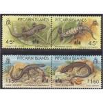 Pitcairn Islands - sisalikud 1993, **