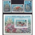 Pitcairn Islands - kalad, korallid 1994, **