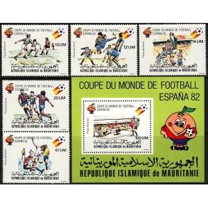 Mauritania - jalgpalli MM, Espana 1982, **