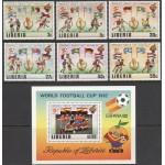 Libeeria - jalgpalli MM, Espana 1982, **