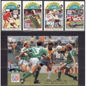 Gambia - jalgpalli MM, USA 1994, **