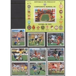 Paraguay - jalgpalli MM, Argentiina 1978, **