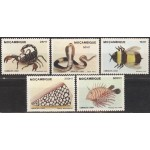 Mosambiik - fauna 1989, **