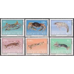 Mosambiik - krabid 1981, **