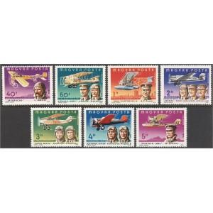 Ungari - lennukid 1978, **