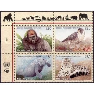 ÜRO (Genf) - fauna: loomad, linnud 1993, **