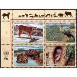 ÜRO (Genf) - fauna: loomad, linnud 2001, **
