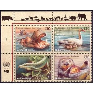 ÜRO (Genf) - fauna: loomad, linnud 2000, **