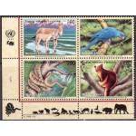 ÜRO (Genf) - loomad, linnud, roomajad 1999, **