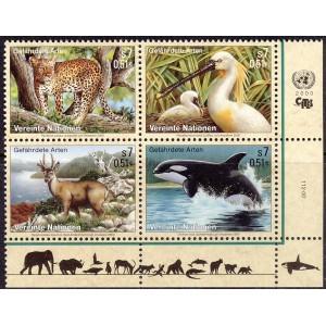 ÜRO (Viin) - fauna: loomad, linnud 2000, **
